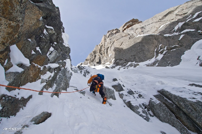 "Восхождение на вершину Dent du Requin по маршруту ""Baumont-Gaby route"" в фотографиях Джонатана Гриффита (+ФОТО)"