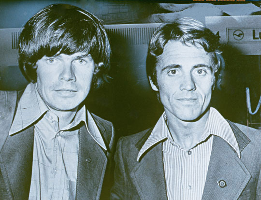 Райнхольд Месснер (Reinhold Messner) и  Петер Хабелер (Peter Habeler) в 70-х годах