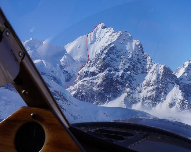 Пик Августин (Augustin Peak). Маршрут по Северо-Восточной стене (Augustin NE face route)