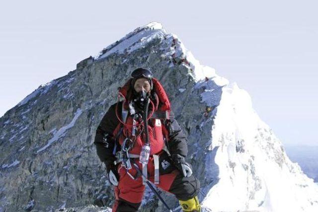 Apa Sherpa (Апа Шерпа) в свой 21-й раз на Эвересте