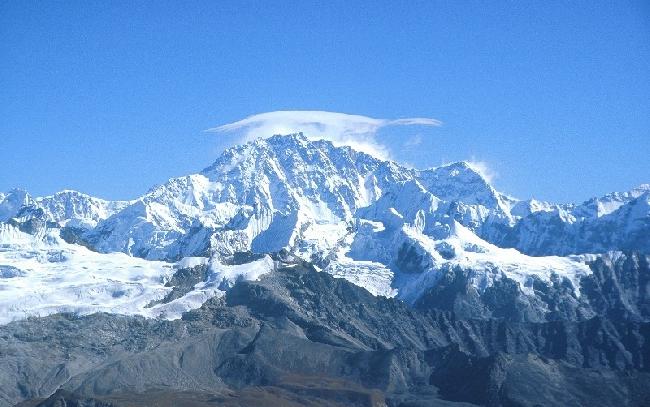 Шишабангма (8027 м), также известная как Шиша-Пангма или Госаинта