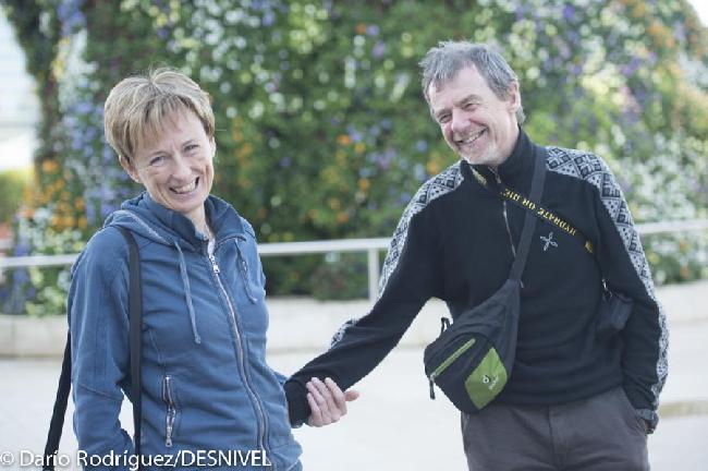 Нивес Мерой (Nieves Meroi) со своим мужем Романо Бене (Romano Benet)