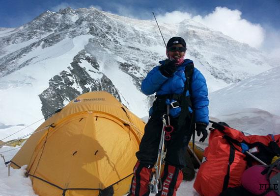 Пурна Малават (Poorna Malavath) у Эвереста