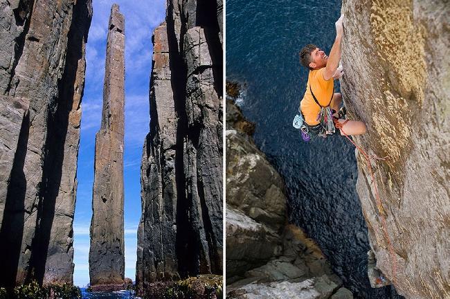 Тасманийский Тотемный столб - одно из самых удивительных скальных образований на планете (+ФОТО)