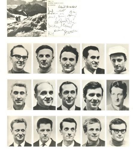 Члены погибшей экспедиции