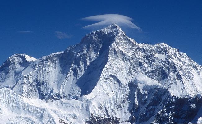 Макалу (8485 м), пятый по высоте восьмитысячник мира