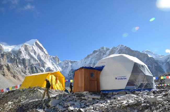 Эверест, базовый лагерь