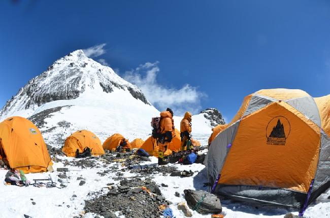 Эверест, южное седло