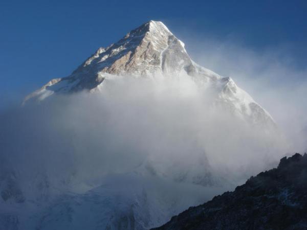 К2  - второй по высоте восьмитысячник мира (8611 м над уровнем моря)