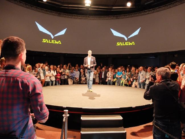 25 мая 2014 года. Мюнхен. презентация нового логотипа компании Salewa
