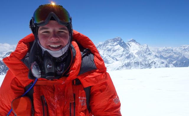 Мэтт Мониц (Matthew Moniz) в Гималаях. май 2014 года
