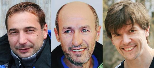 Погибшие на Нангапарбат украинские альпинисты Свергун Игорь, Кошаев Бодави и Коняев Дмитрий.