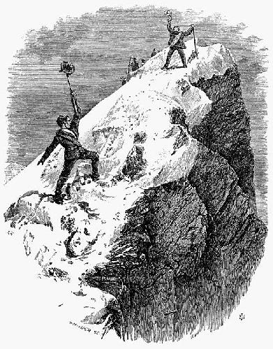 Покорение Маттерхорна, работа Эдуарда Уимпера