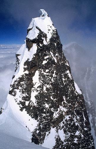 Вершина Лхоцзе после нашего подъема.