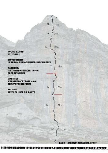 Мультипитч  Zahir+ (300 м, 8c)