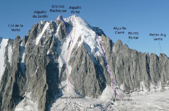 пик Верт (4122 м)