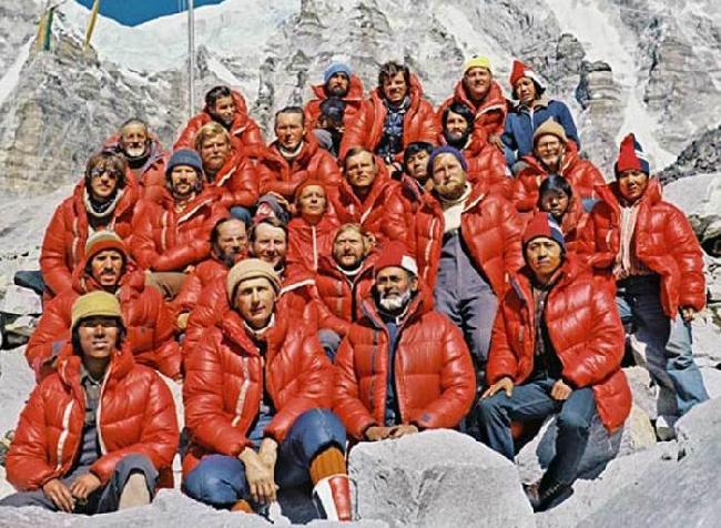 польская экспедиция на Эверест зимой 1980 года