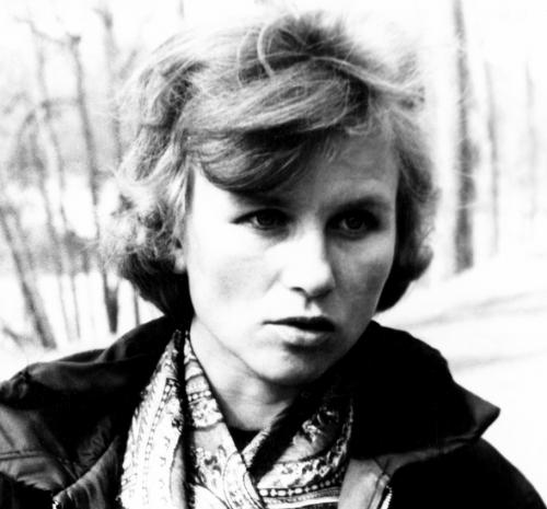 Эльвира Шатаева в Царицыно (апрель 1971),