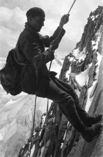 Пьер Аллен (Pierre Allain) в Альпах