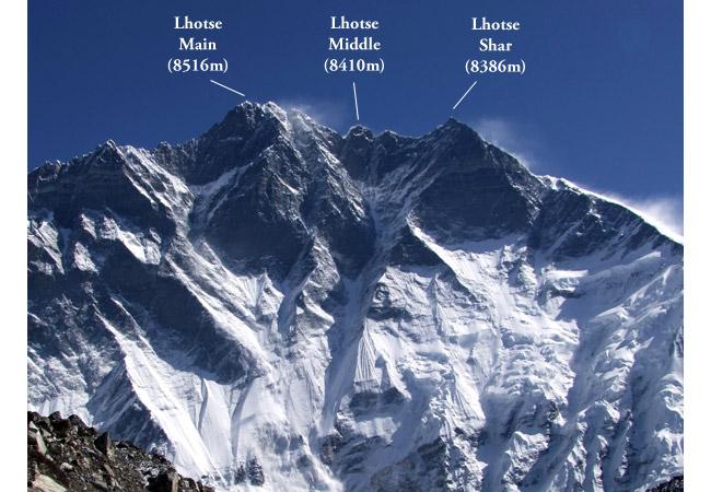 Лхоцзе (Lhotse, «Южная вершина»)