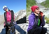 Украинско-Российская женская команда Марина Коптева и Галина Чибиток планируют проложить новый маршрут в Гималаях