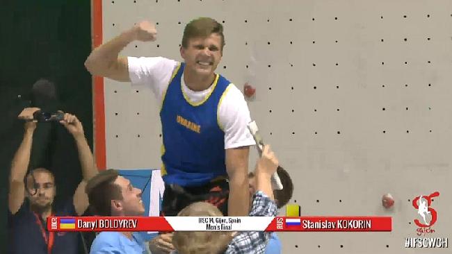 Даниил Болдырев - победитель Чемпионата Мира и новый рекордсмен мира по скалолазанию в дисциплине скорость