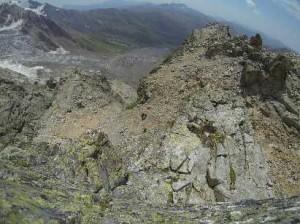 Последний участок первого скального бастиона