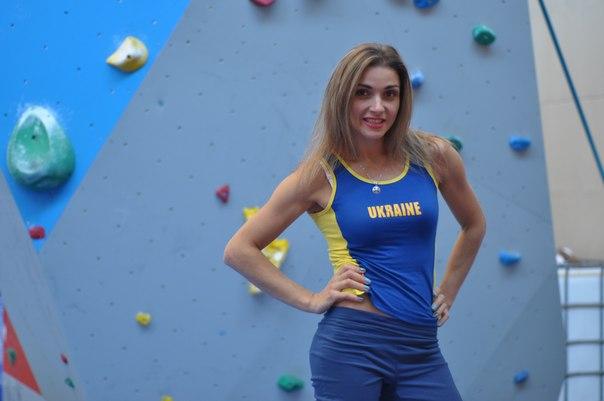 Алла Маренич - финалистка Чемпионата Мира по скалолазанию 2014 года