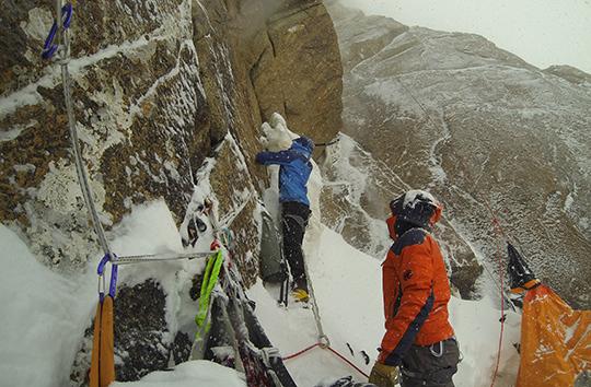 Эквадорские альпинисты проложили новый маршрут на Кызыл Аскер