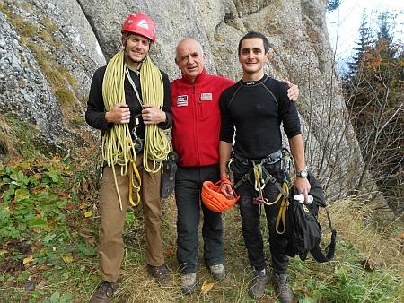 Чемпионами Украины по альпинизму в классе малых гор стала команда города Одессы!