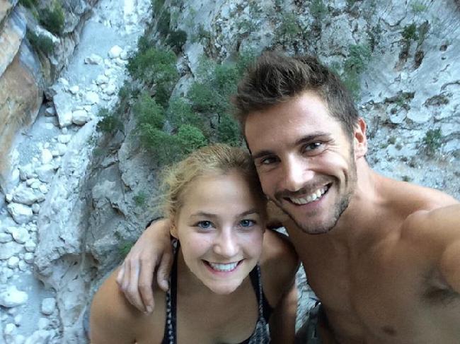 Саша Дижулиан (Sasha Digiulian) и Эду Марин (Edu Marin) на мультипитче Viaje de Los Locos