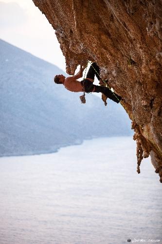 Александр Сотниченко на фестивале  Kalymnos Climbing Festival 2014
