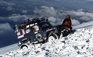 Автомобиль, Человек и Гора