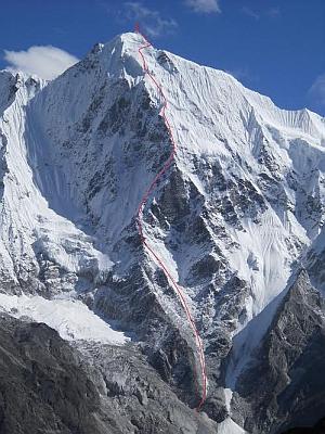 Экспедиция черкасских альпинистов к Лангшиса Ри. Небольшие подробности о пройденном маршруте