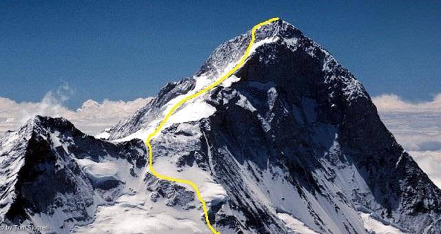 Макалу. Стандартный маршрут восхождения по Северо-Западному гребню, со стороны Северного седла (Makalu normal route  - North West Ridge / North Col.
