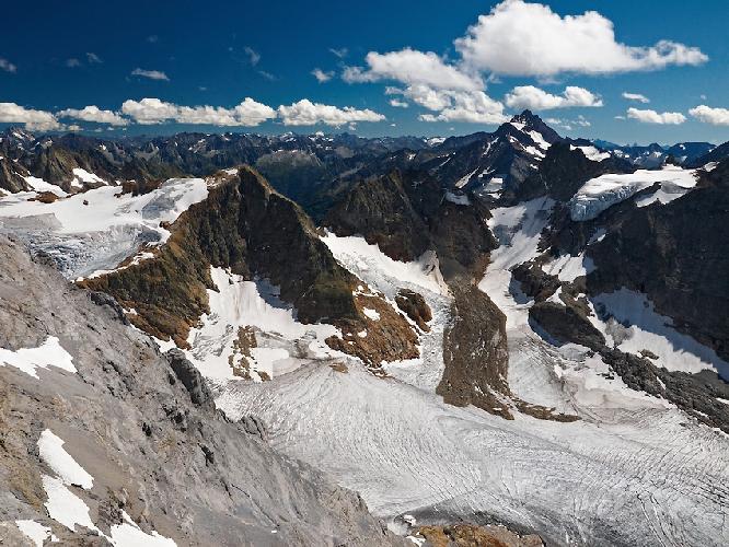 ледник Венден (Wenden glacier) в Бернских Альпах
