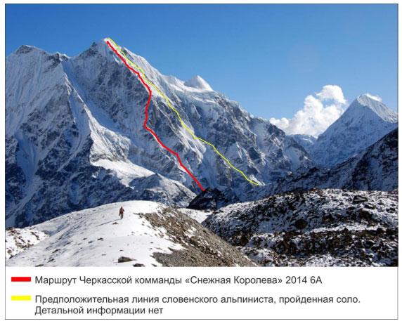 Техническое фото маршрута