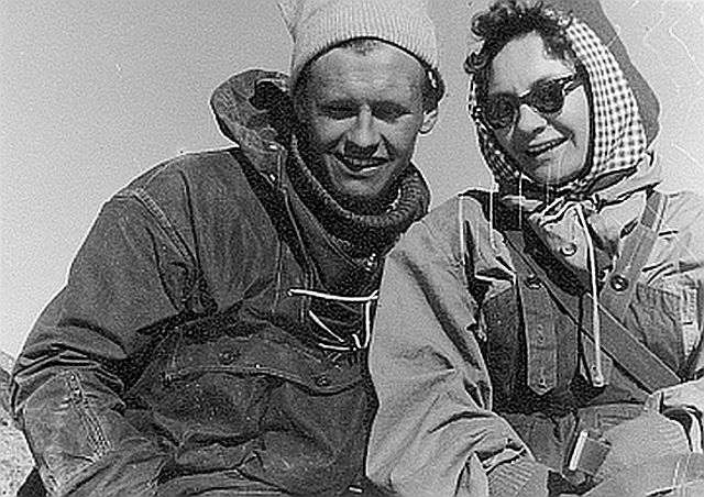 Сергей и Эмма Согрины