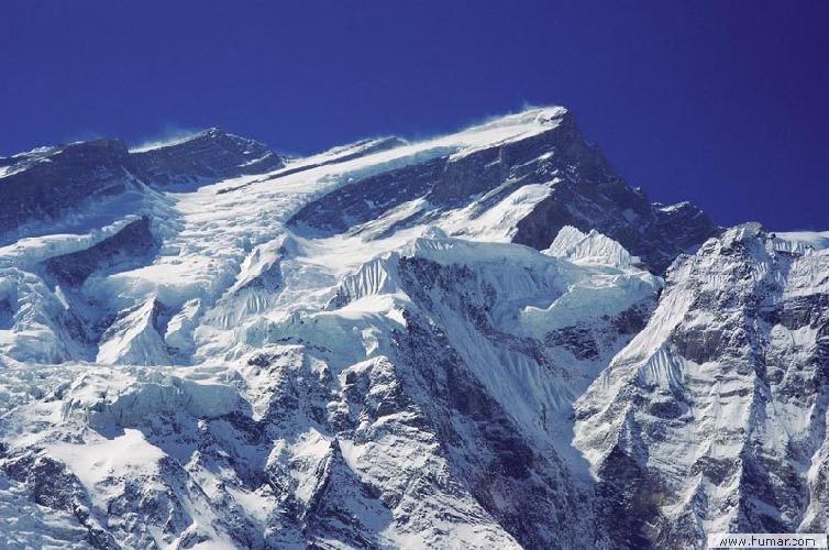 Аннапурна (Annapurna I, 8091 м). Северная стена