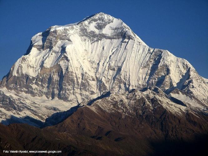 Дхаулагири I (Dhaulagiri I, 8167 м). Южная стена