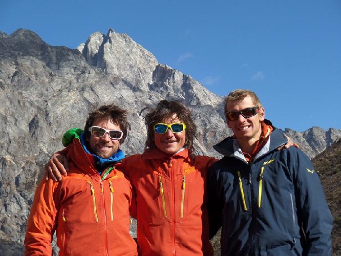Витторио Мессини (Vittorio Messini), Симон Гитль (Simon Gietl), Даниэль Травернини (Daniel Tavernini)