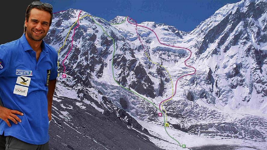 Планируемый маршрут Даниэля Нарди: новый маршрут показан пунктирной линией