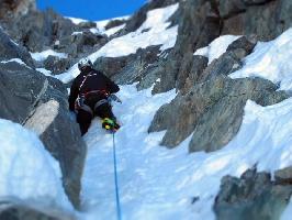 """Восхождение на маршрут """"Infleti"""" на вершину Чекиго Западная"""