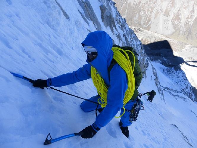 Восхождение на вершину Маленькая Конка (Little Konka) высотой 5928 метров