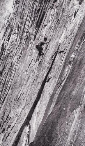 Андре Рош (André Roch) на скалах