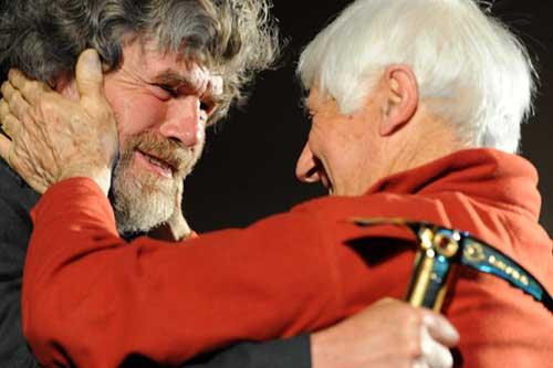 Месснер и Банатти. 2010 г. Золотой ледоруб