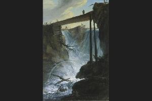 Плотина в долине Мюлеталь (Mühletal), к востоку от города Иннерткирхен (Innertkirchen); 1776 г.   Северный выход из ущелья Далашлухт (Dala-Schlucht). Северный выход из ущелья Далашлухт (Dala-Schlucht).