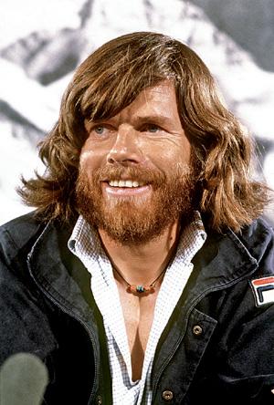 Сентябрь 1980 года. Месснер после восхождения на Эверест без кислорода