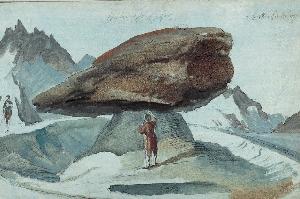 Каспар Вольф (Caspar Wolf); ледник «Нижний Гриндельвальдский глетчер» («Unterer Grindelwaldgletscher») и удар молнии, примерно в 1775 г. Каспар Вольф (Caspar Wolf); ледник «Нижний Гриндельвальдский глетчер» («Unterer Grindelwaldgletscher») и удар молнии, примерно в 1775 г.   Панорама с вершины Бенизегг (Bänisegg) и взгляд на «Нижний Гриндельвальдский глетчер»; 1778 г. Панорама с вершины Бенизегг (Bänisegg) и взгляд на «Нижний Гриндельвальдский глетчер»; 1778 г.   Южный выход из ущелья Далашлухт (Dala-Schlucht). Южный выход из ущелья Далашлухт (Dala-Schlucht).   «Пещера Дракона» недалеко от города Станс (Stans). «Пещера Дракона» недалеко от города Станс (Stans).   Долина Гадменталь (Gadmental) с вершинами Титлис (Titlis), ледником Венденглетчер (Wendengletscher), горами Грассен (Grassen) и Фюнффингерштёкен (Fünffingerstöcken); 1778 г. Долина Гадменталь (Gadmental) с вершинами Титлис (Titlis), ледником Венденглетчер (Wendengletscher), горами Грассен (Grassen) и Фюнффингерштёкен (Fünffingerstöcken); 1778 г.   Большой каменный «стол» на леднике Лаутерарглетчер (Lauteraargletscher). Большой каменный «стол» на леднике Лаутерарглетчер (Lauteraargletscher).