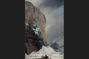 Водопад Штауббахфалль (Staubbachfall) зимой.   Панорама долины Гриндельвальдталь (Grindelwaldtal) с вершинами Веттерхорн (Wetterhorn), Меттенберг (Mettenberg) и Айгер (Eiger). Панорама долины Гриндельвальдталь (Grindelwaldtal) с вершинами Веттерхорн (Wetterhorn), Меттенберг (Mettenberg) и Айгер (Eiger).   Шторм на Тунском озере (Thunersee). Шторм на Тунском озере (Thunersee).   Ледник Ронеглетчер (Rhonegletscher), взгляд со стороны села Глеч (Gletsch). Ледник Ронеглетчер (Rhonegletscher), взгляд со стороны села Глеч (Gletsch).   Город Лёйкербад (Leukerbad) со скальными склонами хребта Гемми (Gemmi). Город Лёйкербад (Leukerbad) со скальными склонами хребта Гемми (Gemmi).   Водопад Штауббахфалль (Staubbachfall) летом. Водопад Штауббахфалль (Staubbachfall) летом.   Ледник «Нижний Гриндельвальдский глетчер», река Лючине (Lütschine) и гора Меттенберг; примерно в 1775 г. Ледник «Нижний Гриндельвальдский глетчер», река Лючине (Lütschine) и гора Меттенберг; примерно в 1775 г.   Плотина в долине Мюлеталь (Mühletal), к востоку от города Иннерткирхен (Innertkirchen); 1776 г. Плотина в долине Мюлеталь (Mühletal), к востоку от города Иннерткирхен (Innertkirchen); 1776 г.   Северный выход из ущелья Далашлухт (Dala-Schlucht). Северный выход из ущелья Далашлухт (Dala-Schlucht).